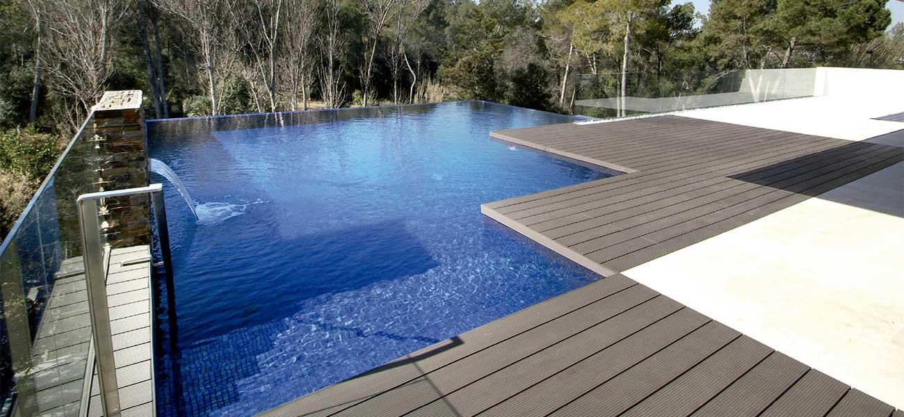 Tres piscines diferents en una sola